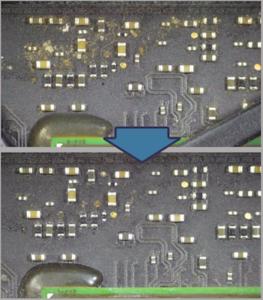 reparation af bundkort og logic boards
